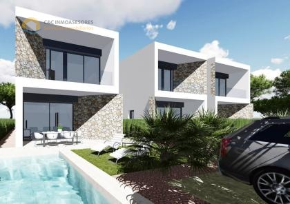 State of the art villas with private pool