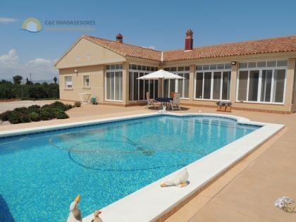 luxury villa with swimming pool and 13200 meters plot
