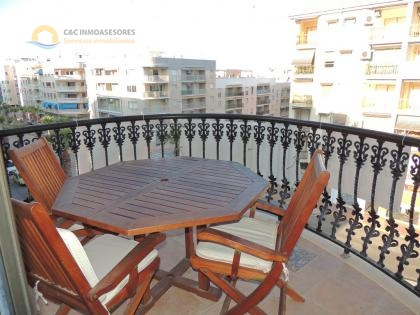 Apartment with garage 100 meters from the beach